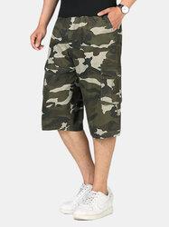 100%Cotton Camo Shorts