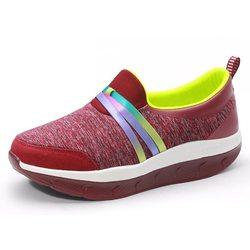 Rocker Sole Walking Shoes
