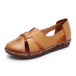 Soft Hollow Out Flat Shoes