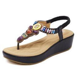 Large Size Bohemia Platform Sandals