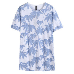 Breathable Printed Summer Casual T Shirts