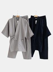 Comfy Cotton Loose Big Pajamas Sets