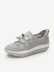 Rocker Sole Breathable Trainers