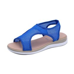Large Size Mesh Elastic Band Sandals