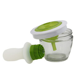 Handy Kitchen Tool Grill Oil Bottle Brushes Set Tool Silicone Bake BBQ Honey Oil Bottle Brush Oil Brush Pastry Roast Meat Cooking Tools