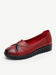 Splicing Comfortable Slip On Casual Loafers