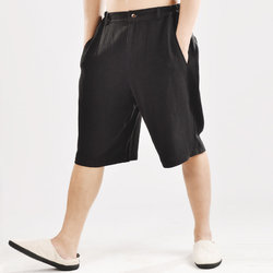 Breathable 100% Cotton Loose Casual Shorts