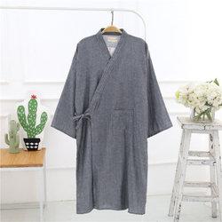 Japanese Double Gauze Home Sleep Robes