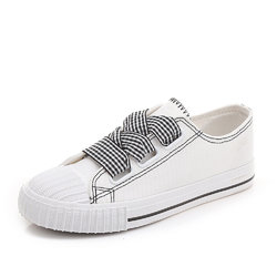 Shell Toe Lace Up Canvas Shoes