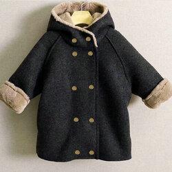 Category: Dropship Kids & Mom, SKU #SKUA58406, Title: Boys Fleece Thicken Coat For 2Y-9Y