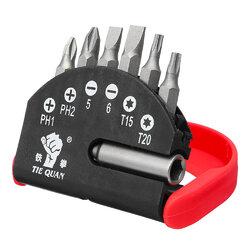 7pcs Magnetic Screwdriver Bits Set 1/4 Inch Screwdriver Bit
