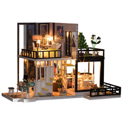 Romantic Wooden Doll house