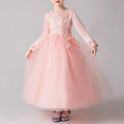Category: Dropship Kids & Mom, SKU #SKUA73772, Title: Flower Girl Christmas Dresses For 4Y-15Y