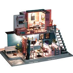 Handmade 3D Wooden Miniatures Doll House