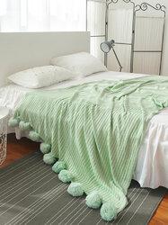 150x200cm Soft Knitted Crochet Throw Blanket