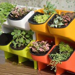Stackable Garden Planter Flower Pot