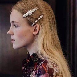 Trendy Big Pearl Hair Clip