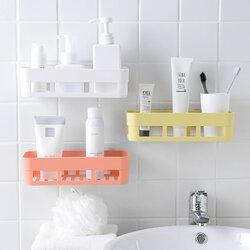 Punch-Free Shelf Plastic Wall Hanging Shelf Storage