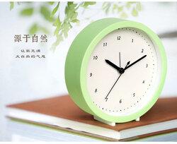 Creative Bedside Mute Fashion Office Children Students Latest Cartoon Simple Alarm Clock