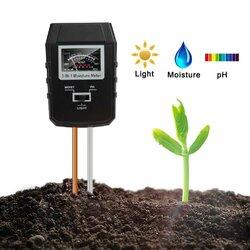 Soil PH Meter Moisture Tester Indoor Plants Garden Lawn