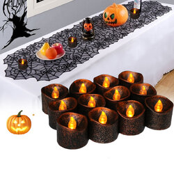 12PCS LED Candle Light Battery Operated