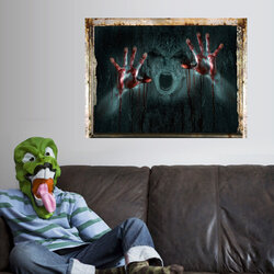 Halloween Party Scary Wall Stickers