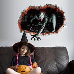 Removable Halloween Sticker