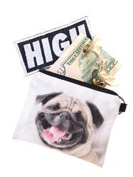 Dog 3D Printing Multi-Functional Cosmetic Bag