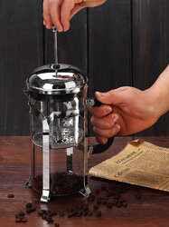 1000ml Copper Cafetiere French Press Coffee Maker