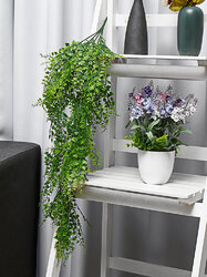 Artificial Plant Wall Hanging Fake Flower Rattan Vine