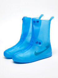 Rain Boots Cover Fashion Men And Women PVC Water Shoes