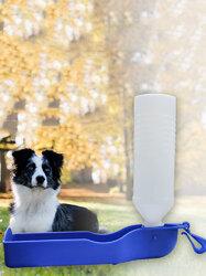 Pet Supplies Drinking Bottle Outdoor Portable Feeding Bottle Can Hung Dog Waterer Drinking Water Cat Water Bottle