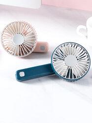 Mini Handheld Charging Small Fan Portable Silent Multi-speed Wind Speed Fan Folding Usb Fan Portable Office Outdoor Home Tool