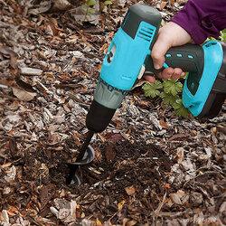 Garden Drill Planter Spiral Rod Garden Planting Flower Bit