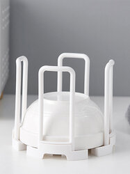 Kitchen Tableware Tableware Drain Rack Adjustable Size Shelf Household Sink Bowl Clamps Dishes Filter Rack
