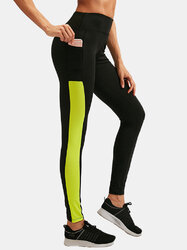 Patchwork Breathable Skinny Yoga Pants