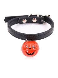 Halloween Ghost Festival Pumpkin Bells Dog Collars Can Hang Traction Cats Universal Pet Collars