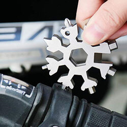 EDC Multi-tool Card Combination Portable Outdoor Snowflake Tool Wrench