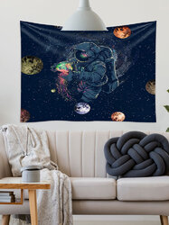 Astronaut Tapestries Fantasy Spaceman Wall Hanging Tapestry