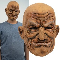 Halloween Old Man Party Mask