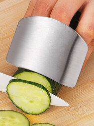 High-quality Stainless Steel Vegetable Cutting Hand Guard Finger Protector Cutting Vegetable Guard Protector