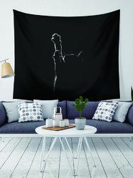 Cat Pattern Black Tapestry Art Home Decoration Living Room Bedroom Decoration