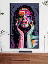 Colorful Abstract Beauty Pattern Canvas Painting Unframed Wall Art Canvas Living Room Home Decor