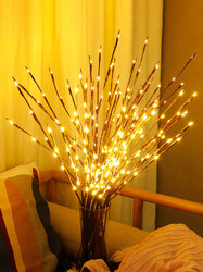 LED Branch Simulation Nordic Style Home Indoor Decor Table Lamp Creative Night Light For Bedroom Wedding Office