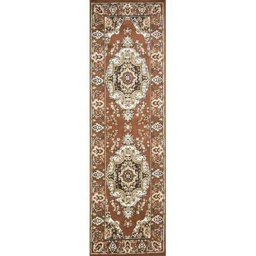 Stevens Oriental Classic Brown/Beige Indoor Area Rug