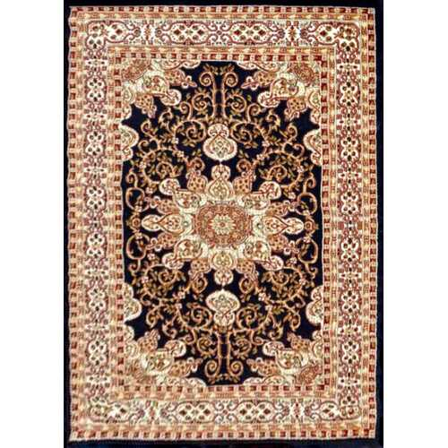 Staveley Oriental Hand-Tufted Brown/White Area Rug