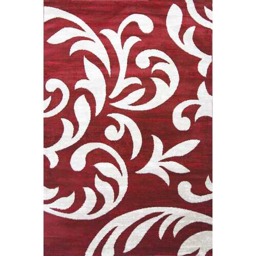 Knoxville Red Area Rug 5 ft. by 7 ft.