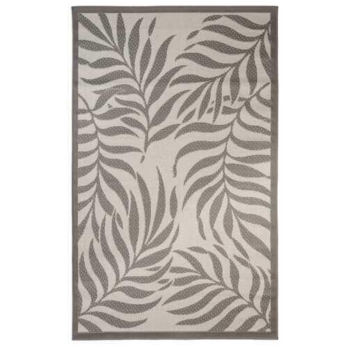 Botanical Indoor/Outdoor Light Gray Rug