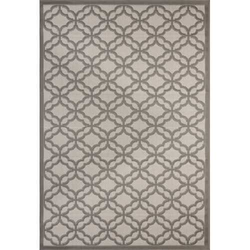 Fort Trellis Indoor/Outdoor Gray Rug