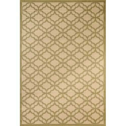 Fort Trellis Indoor/Outdoor Green Rug